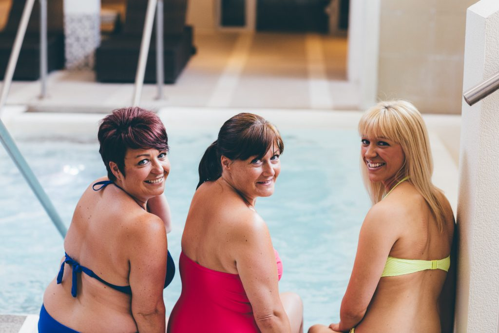 Ladies in Hydro pool