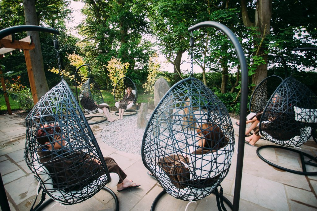 egg pod baskets - zen garden