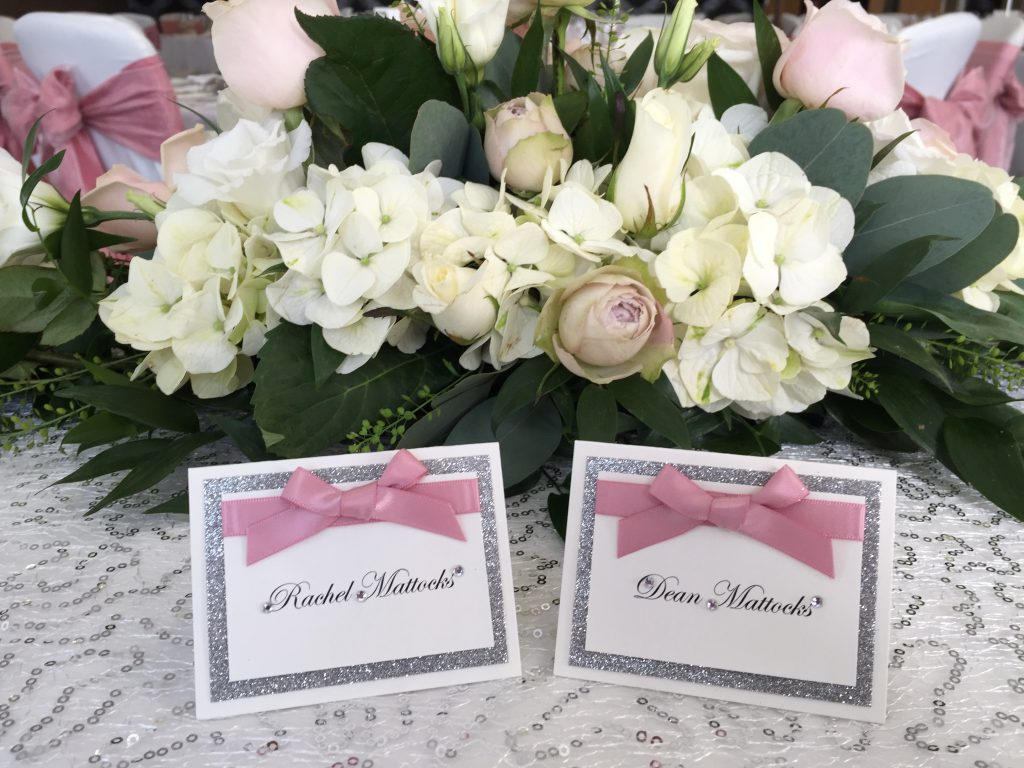 Wedding stationery, Ribby Hall Village