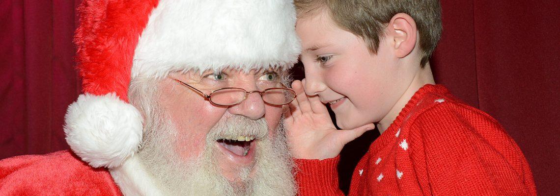 Santa at Ribby Hall Village