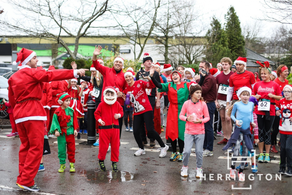 Santa Dash Health Club