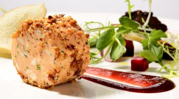 Goats cheese mousse recipe
