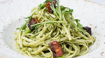 Pesto Linguine , Ribby Hall Village
